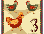 ...three french hens