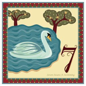 ~seven swans a swimming...